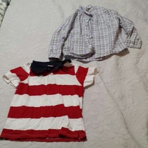 Bundle of Boys Gymboree Shirts Size 5T